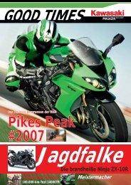 REPORTAGE 100.000 km mit Kawasaki 1400GTR - Zwei-Rad-Sport ...