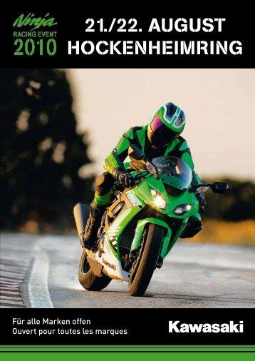 aNmElduNg KawasaKi RaciNg EvENt 2010 ... - Zwei-Rad-Sport Elgg