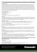 aNmElduNg KawasaKi RaciNg EvENt 2010 ... - Zwei-Rad-Sport Elgg - Seite 4