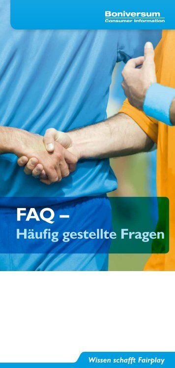 10. Häufig gestellte Fragen an die Creditreform Boniversum GmbH