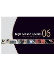 high season special.