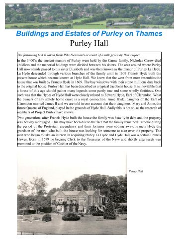 M0015 - Purley Hall.dtp - Project Purley