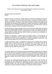 Em ano eleitoral, Planalto quer evitar a palavra ... - Jerson Kelman