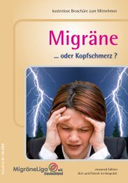 Migräne oder Kopfschmerz - bei Crossmed