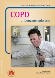 COPD ...Lungenemphysem - bei Crossmed