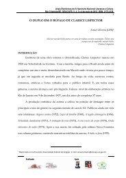 O DUPLO EM O BÚFALO DE CLARICE LISPECTOR