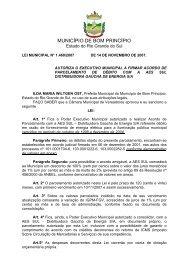 Download - Câmara Municipal de Vereadores de Bom Princípio
