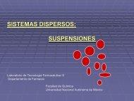 SISTEMAS DISPERSOS: SUSPENSIONES - DePa