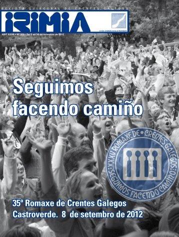 35ª Romaxe de Crentes Galegos Castroverde. 8 de ... - Irimia