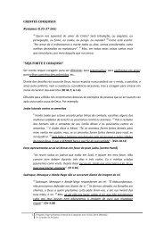 CRENTES CORAJOSOS Romanos 8.35-37 - Igreja Batista Central ...