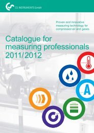 Catalogue for measuring professionals 2011/2012 - easyFairs
