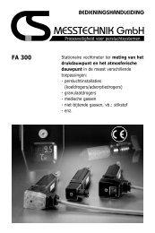 FA 300 - CS Instruments