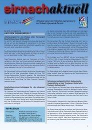 Sammeldatum: Dienstag, 29. März 2011 bis und mit