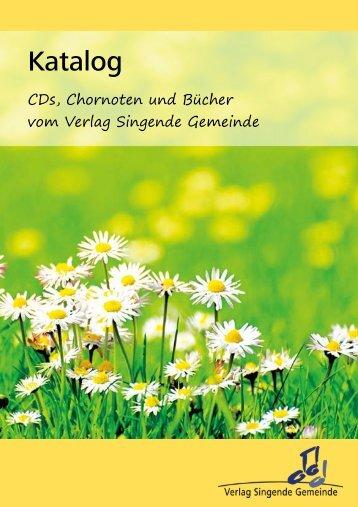 Katalog - Christlicher Sängerbund Wuppertal