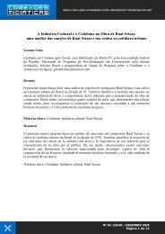 Geanne Lima - CCHLA - Universidade Federal da Paraíba