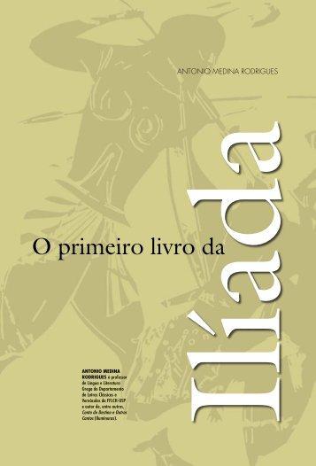 O primeiro livro da Ilíada Antonio Medina Rodrigues - USP