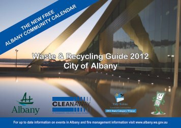 Waste & Recycling Guide 2012 City of Albany - Cleanaway Council ...