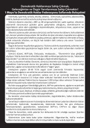 DHF - 1 Mayıs Bildirisi - 2011.cdr - Demokratik Haklar Federasyonu