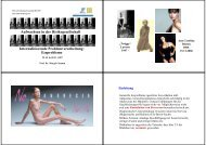 Internalisierende Problemverarbeitung - UniFr Web Access