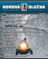 HORSKÁ SLUZBA - Horská služba ČR
