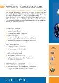Seminare ZUr meDiZiniSCHen BeWeGUnGSanaLYSe - currex - Seite 4