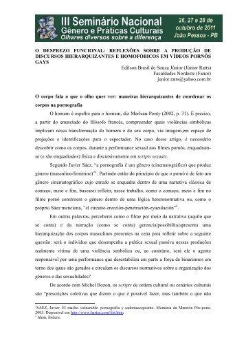 O DESPREZO FUNCIONAL REFLEXOES SOBRE A ... - Itaporanga.net