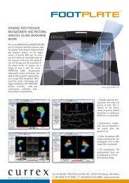 currex FOOTPLATE data sheet PDF