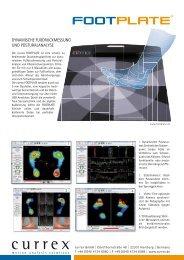 currex FOOTPLATE PRO Datenblatt als PDF