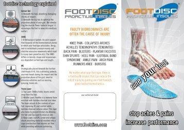 www.footdisc.com footdisc technology explained - currex