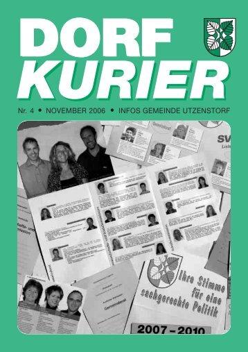 DORF KURIER - Gemeinde Utzenstorf