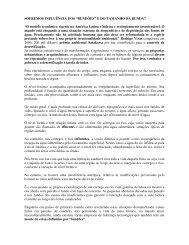 Artigo 181 - Influência dos Bundões e do Tamanho da ... - Outorga