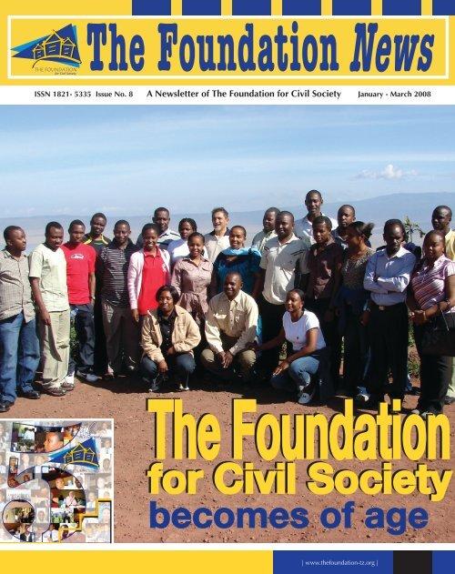 for Civil Society for Civil Society - The Foundation for Civil Society