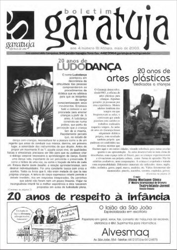 LuDoDANçA - Instituto de arte e cultura Garatuja