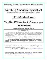 Yearbook for 1952, The Voyager.pmd - Nürnberg Alumni Association