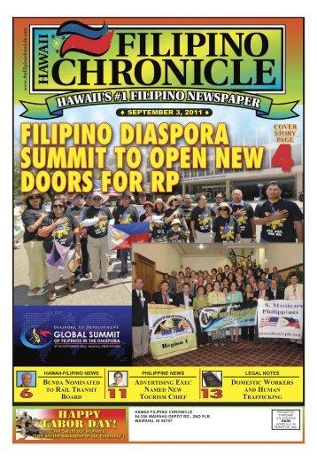 09/03/2011 - Hawaii-Filipino Chronicle