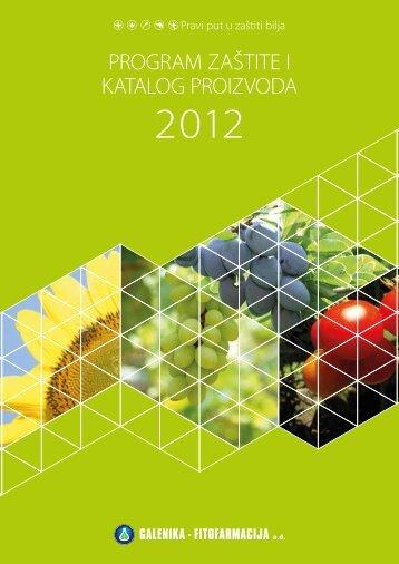 program zaštite i katalog proizvoda - Galenika Fitofarmacija AD