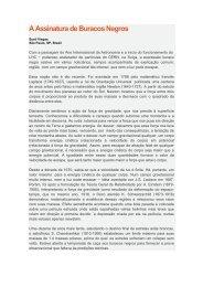 A assinatura de Buracos Negros.pdf - Instituto de Física - UFRGS