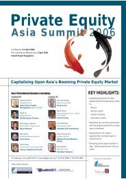 Private Equity Asia Summit 2006 - 2thepoint