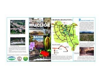 folder Mucugê - projeto sempre viva