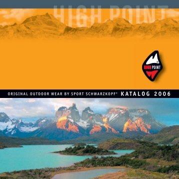 KATALOG 2006 - High Point
