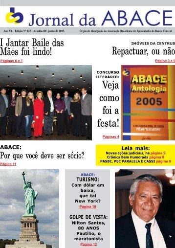 Jornal da ABACE Nº 123