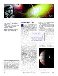 Buracos nem tão negros assim - Sociedade Brasileira de Física