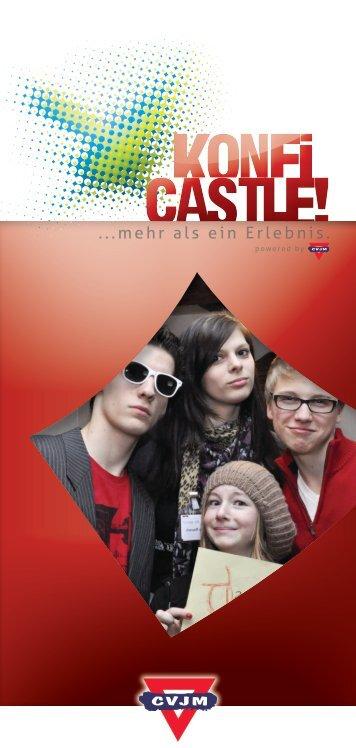 KonfiCastle Flyer mit Infos - CVJM-Landesverband Bayern