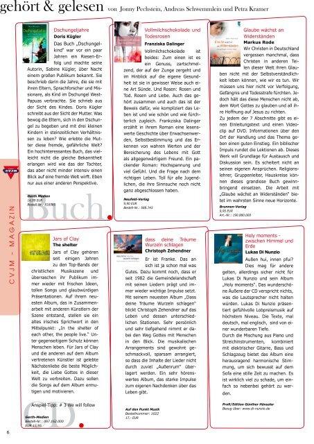 Magazin zum Download - CVJM-Landesverband Bayern