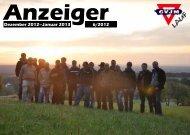 Anzeiger CVJM Lauf Monat Dezember Januar 2012 / 2013