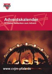 Unseren Adventskalender als PDF z.B. für Ebook ... - CVJM Pfalz eV