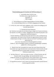 Teilnahmebedingungen für Freizeiten des CVJM Sonnenberg e.V. 1 ...