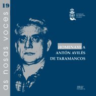 homenaxe a antón avilés de taramancos - Consello da Cultura Galega