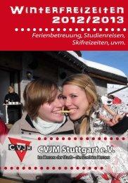 oder als PDF (0,5 MB) - CVJM Stuttgart
