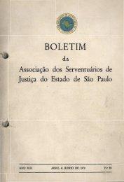 BOLETIM da Associação dos Serventuários de Justiça do Estado de ...